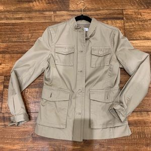Khaki Safari Jacket S